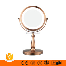 10x magnifying lighted vanity custom makeup mirror bedroom vanity table with lighted mirror