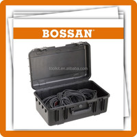 Hard plastic tool case plastic equipment case ,Hard Waterproof Rifle case With Wheels for Hunting Travel