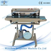 DBF-1000G Iron Body Continuous Band Sealing Machine With Gus Flush