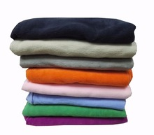 100% polyester Plaid dyeing antipilling polar fleece fabric