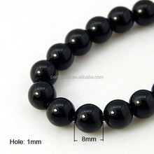 8mm Natural Black Tourmaline Gemstone Beads for Sale Wholesale(G-G099-8mm-11)
