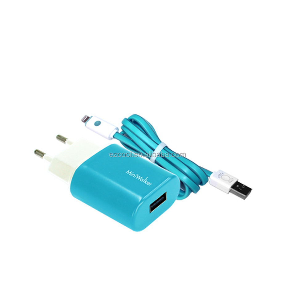 Single Quick USB Travel Phone Charger for Smartphones and Tablets wall socket