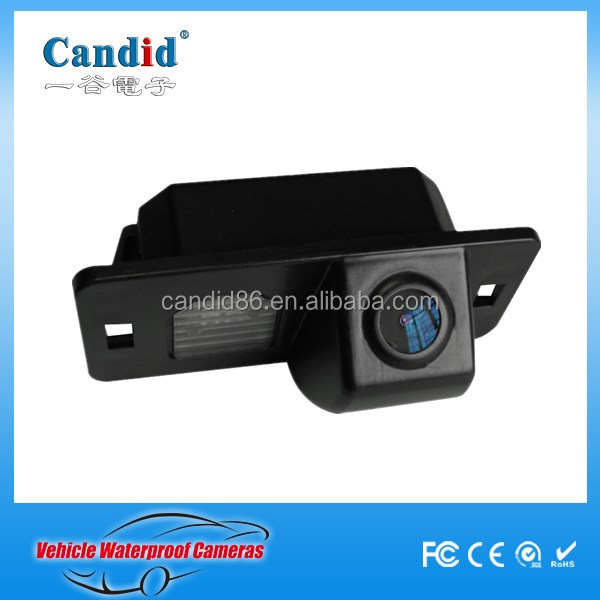 Ip 68 Waterproof Mini back up camera Night Vision reverse camera for Audi