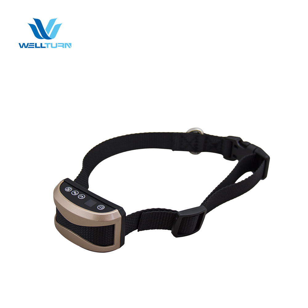 2017 newest vibrating Anti bark Dog Collar Beeper and E-collar vibration collar WT165B