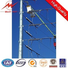Phlippines 69 KV steel pole (25ft-90ft)