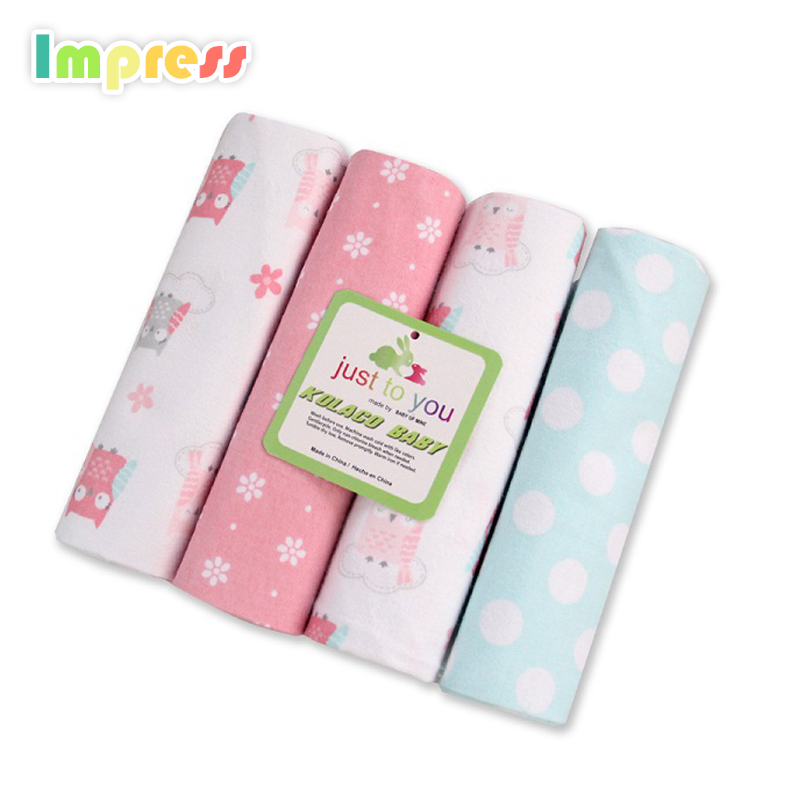 Factory price baby receiving blankets soft cotton flannel blanket for baby wholesale
