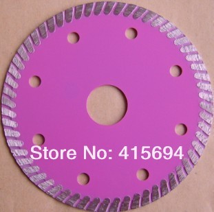 105X7X22.23-15.88mm hot pressed super thin turbo diamond saw blade for tiles, ceramic,granite,marble,bricks and concrete