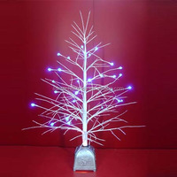 Artificial Tree without Leaves LED Fiber Optic Twig Trees
