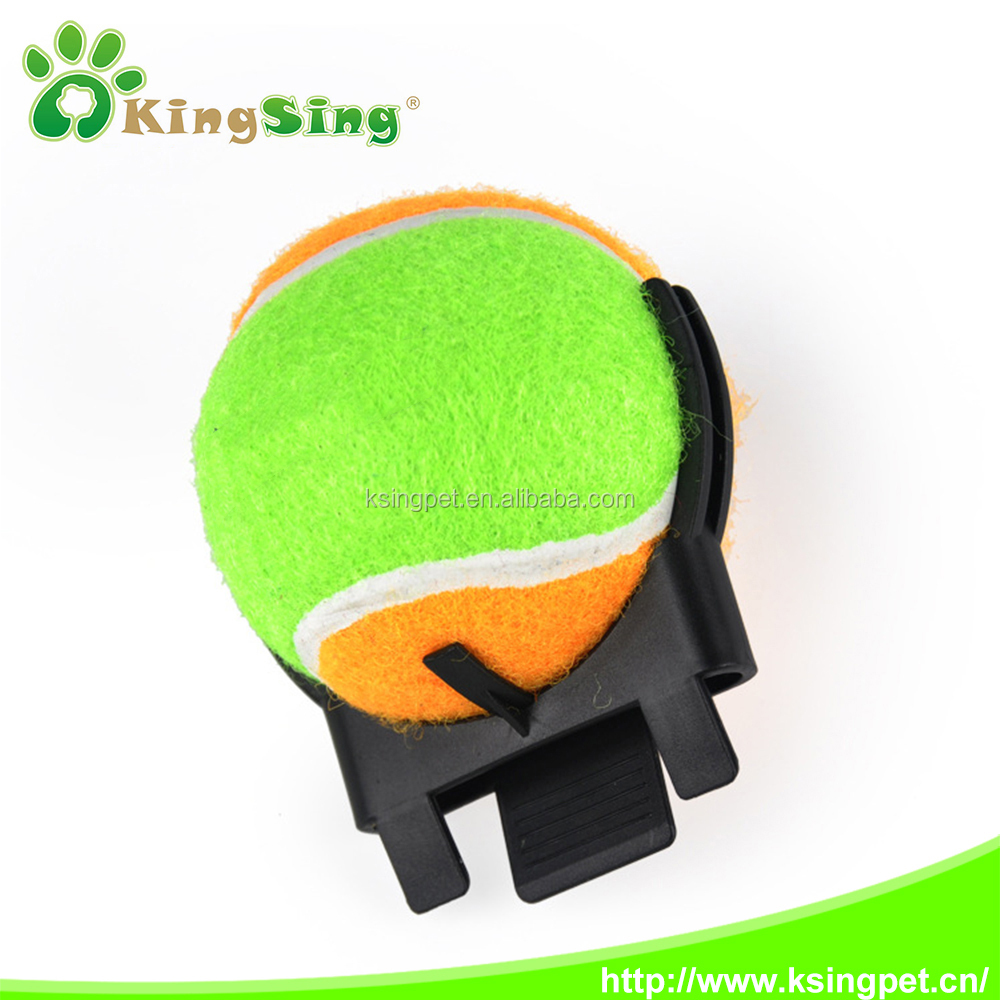 2016 pet tennis ball with Selfie, Smartphone Attachment pet Selfie Stick for Pet, Pet agility training or pet toy for dogs