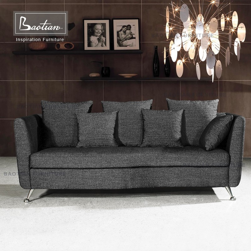 Pakistan Simple Style Fabric Sofa Set Living Room Home Furniture