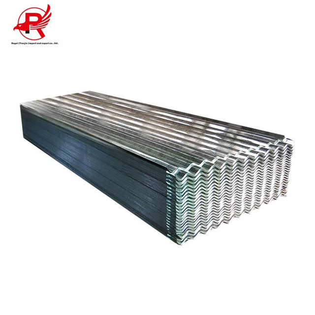 In stock galvanized zinc corrugated steel roofing sheet weight calculation