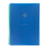 A4 PP spiral notebook - Royal Blue from China factory