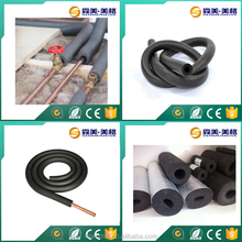 China suppliers rubber foam copper pipe insulation for air conditioning