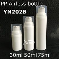 30ml/50ml /75ml plastic PP cosmetic airless bottle