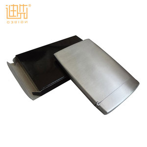 Stainless steel business metal name card holder