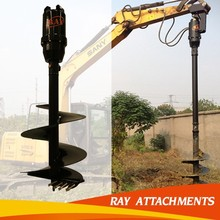 hydraulic hole digging tools for construction