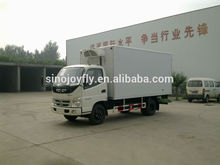 small water truck parcel delivery van