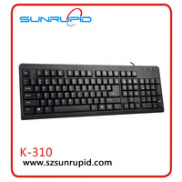 SUNRUPID Computer Keyboard And Mouse Mini Bluetooth Keyboard