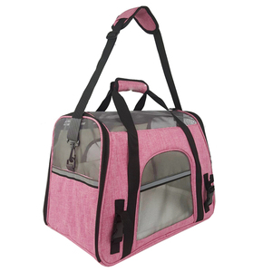 Pink Purple beige grey 900D cation linen cat carrier bag for cats and dogs kennel