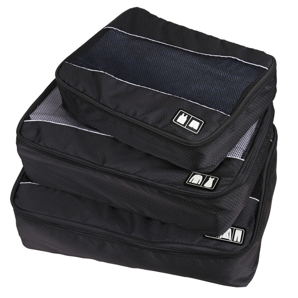 Travel Accessories Bag 3 Pcs/Set Packing Cubes Polyester Bags For Clothes Luggage Packing Organizers Sports Bag