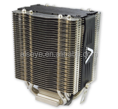 Alseye manufacture AB2520 low noise cpu cooler water cooled cpu heatsink cooling heatsink