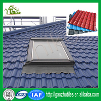 30-year guarantee pvc plastic roof tile/modern house types of roof tiles/type of roofing sheets