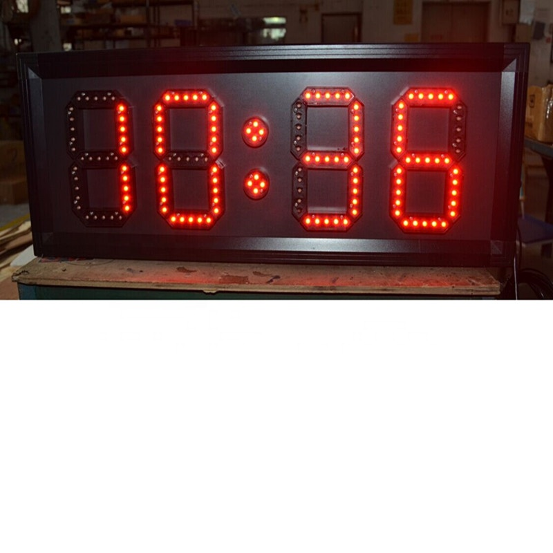 Alibaba outdoor large LED temperature / humidity display