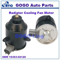 GOGO Auto Cooling/Radiator Fan Motor for TOYOTA Camry 16363-02120