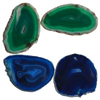 Natural Polished Agate Slice Wholesale for home decoration