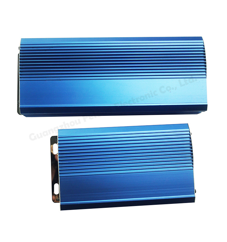 aluminum alloy profile die cast anodized enclosure extrusion ip68 junction electronic box case housing