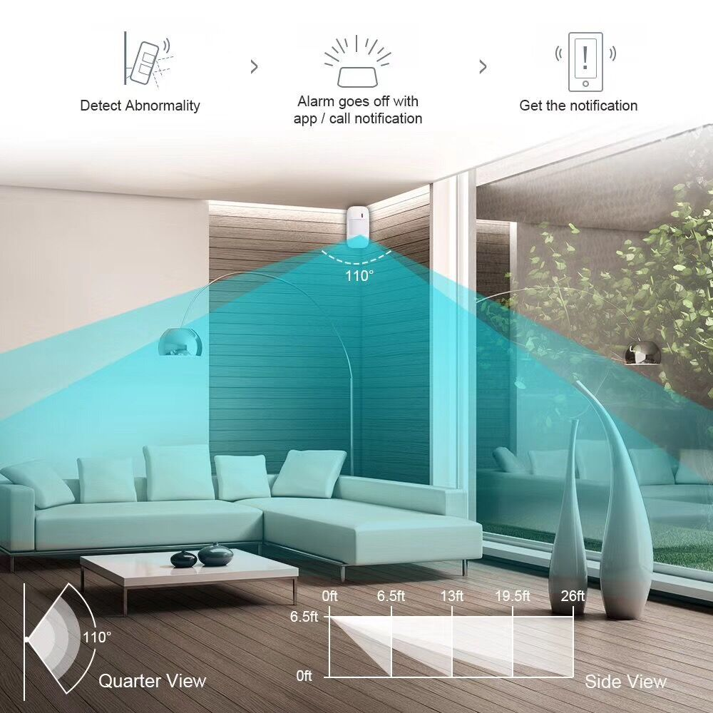 GSM & WiFi Dual Network Smart Home Security Alarm Systems Vcare