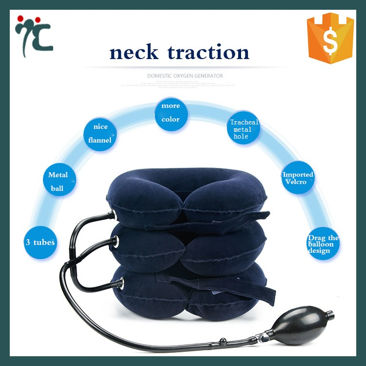 new design Massage Pillow medical cervical neck collar for pain relief