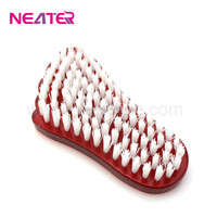 Wholesale transparent plastic cleaning foot scrub brush