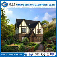 China Made Prefabricated Steel High Quality Luxury House Villa