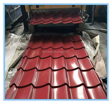 metal roofing embossed surface corrugated ppgi steel sheet