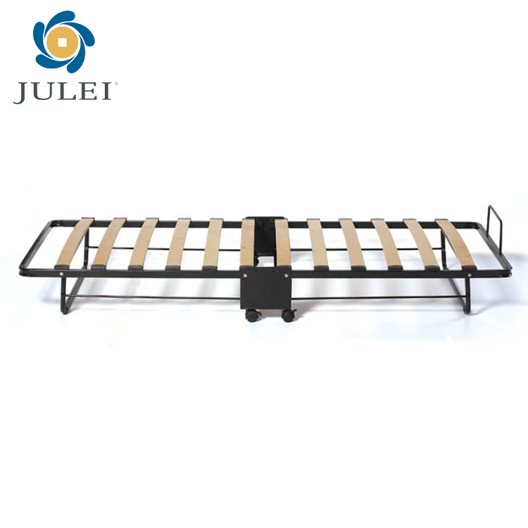 Rollaway Metal Folding Bed For Hotel Home Office Hospital