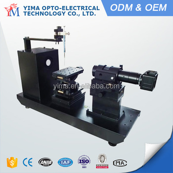 PT-708 Water drop contact angle measurement with digital camera