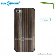 New arrival high quality wooden case for iphone 5C funky bamboo mobile phone case