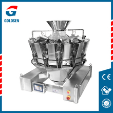 Hot sale nice quality PLC or MCU control 10 heads multihead weigher with CE