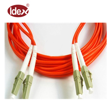 Hot Sale ST UPC Fiber Optic Patch Cord/ Jumper 50/125 OM2 Duplex Multimode Armored Fiber Optic Patch Cable with 3.0mm PVC Jacket