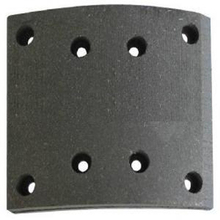 WVA 19580 brake lining,FMSI 4656 MB/74/1 commercial vehicle brake linings,truck brake linig