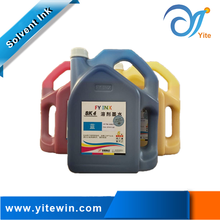 Outdoor Uv Inkjet Solvent Printing Ink For SPT 510