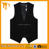 2015 man Sleeveless cheap safety party vest for gentleman