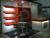 Exhibit Booths, Display Stands, Kiosks