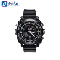 8GB Full HD 1080P Waterproof Watch Police USB Camera Night Vision Hidden Watch Camera Police DVR Wrist Sport Action Camera