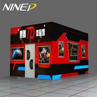 Canton Fair Popular 5D Cinema Attractive Electric Interactive Cinema 7D For Children