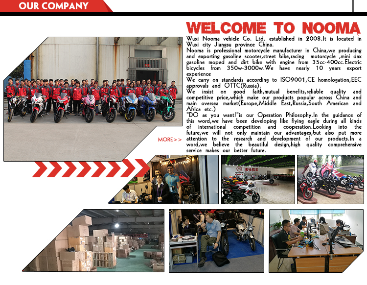 NOOMA Professional factory supply low price customized racing heavy sport motorcycle