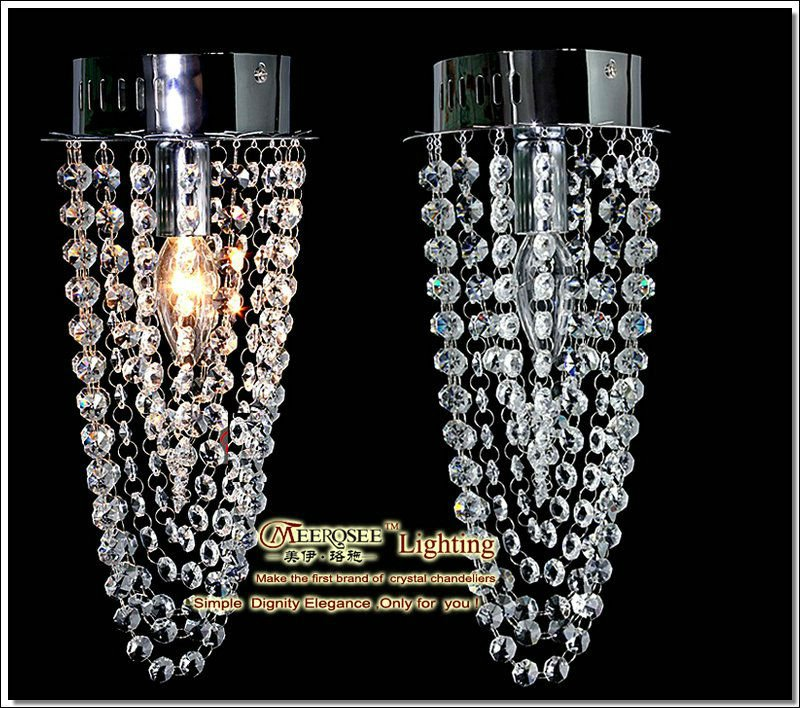 Modern Artistic Mini Crystal Ceiling Light, 1 Light Small Delicated Ceiling Lamp