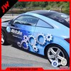 Full color printing leather car wrap