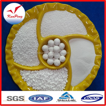 Tabular Alumina granulars and powder for refractory monolithics